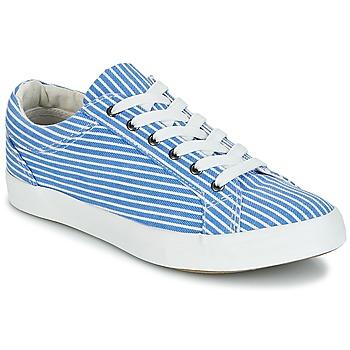 Sapatos Mulher Sapatilhas André SESAME Azul