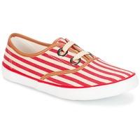 Sapatos Mulher Sapatilhas André MELON Vermelho
