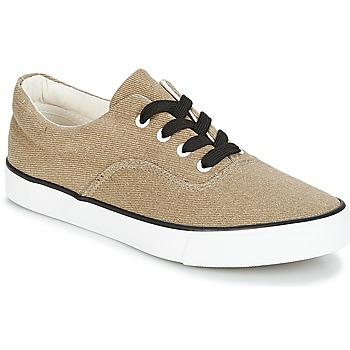 Sapatos Mulher Sapatilhas André FUSION Dourado