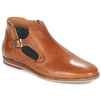 Sapatos Homem Botas baixas André GAMIN Castanho