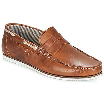 Sapatos Homem Sapato de vela André FREGATE Castanho