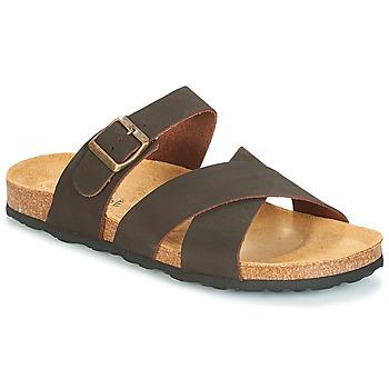 Sapatos Homem Sandálias André MAUX Castanho