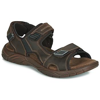 Sapatos Homem Sandálias André MIAMI Castanho