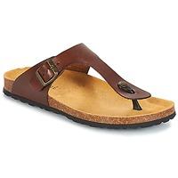 Sapatos Homem Chinelos André MARAIS Castanho
