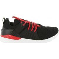 Sapatos Criança Sapatilhas Bass3d 42141 TEXTIL NEGRO Negro