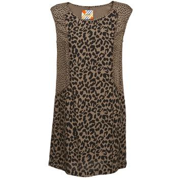 Textil Mulher Vestidos curtos Chipie RITA Bege