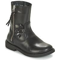 Sapatos Rapariga Botas baixas Citrouille et Compagnie JARINDA Preto