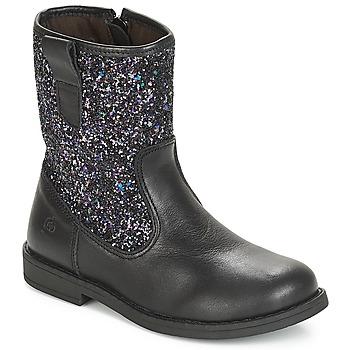 Sapatos Criança Botas baixas Citrouille et Compagnie JUCKER Preto
