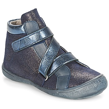 Sapatos Rapariga Sapatilhas de cano-alto Citrouille et Compagnie HISSOU Azul