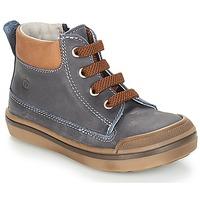 Sapatos Rapaz Botas baixas Citrouille et Compagnie JIK Azul / Conhac