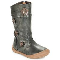 Sapatos Rapariga Botas Citrouille et Compagnie JAMATIS Bronze