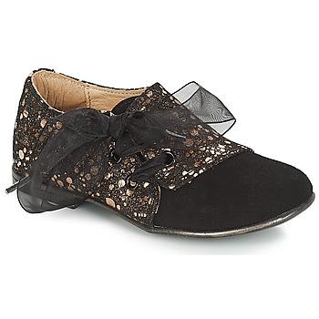 Sapatos Rapariga Sapatos Citrouille et Compagnie JETTRA Preto / Bronze