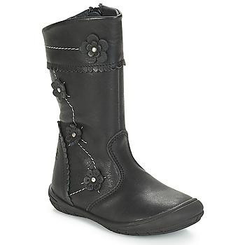 Sapatos Rapariga Botas Citrouille et Compagnie JAMATIS Preto