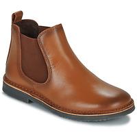 Sapatos Criança Botas baixas Citrouille et Compagnie JOVETTE Camel