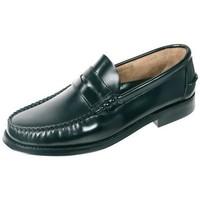 Sapatos Homem Mocassins Cbp - Conbuenpie Mocasin Castellano de hombre de piel by Urban Jungles Negro