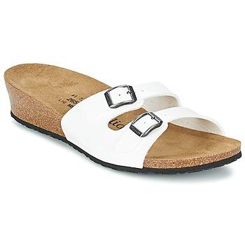 Sapatos Mulher Chinelos Papillio ANNE Verniz / Branco