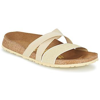 Sapatos Mulher Sandálias Papillio COSMA Bege / Dourado