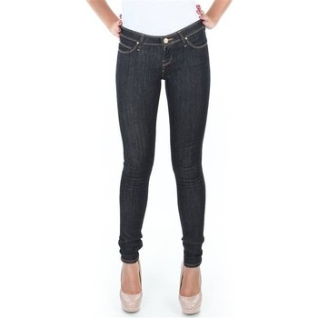 Textil Mulher Gangas Skinny Lee Spodnie  Toxey Rinse Deluxe L527SV45 blue