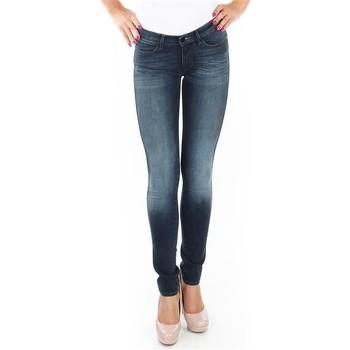 Textil Mulher Gangas Skinny Wrangler Spodnie  Corynn W25FU453J blue