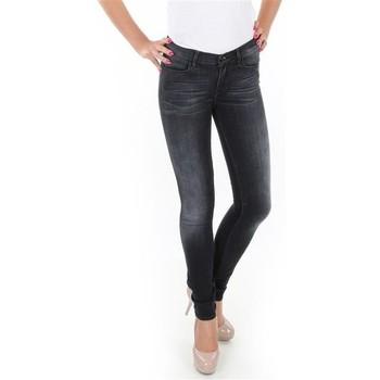 Textil Mulher Gangas Skinny Wrangler Jaclyn W26DLI53K black