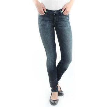 Textil Mulher Gangas Skinny Wrangler Spodnie  Jaclyn 26DU468Y blue