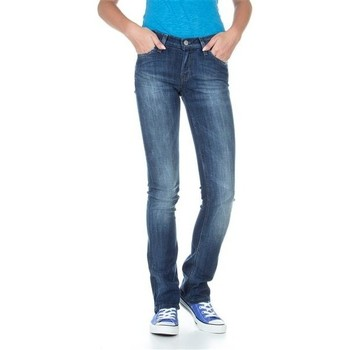 Textil Mulher Calças de ganga slim Lee Bonnie L302ALFR blue