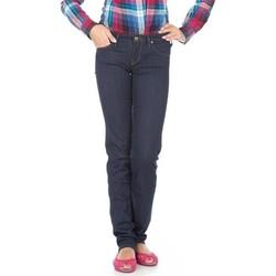 Textil Mulher Calças de ganga slim Lee Lynn Straight  L333EYCU blue