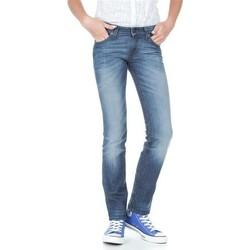 Textil Mulher Calças de ganga slim Lee Marlin L337AMPI blue