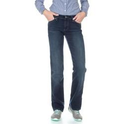 Textil Mulher Calças Jeans Wrangler Sara W212QC818 granatowy