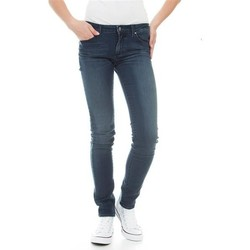 Textil Mulher Gangas Skinny Wrangler Molly River Washed W251ZB33T blue