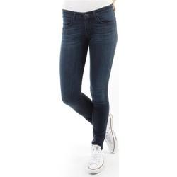 Textil Mulher Gangas Skinny Wrangler Spodnie Damskie CORYNN BLUE SHELTER W25FU466N blue