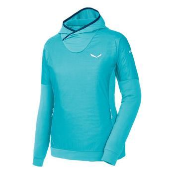Textil Mulher Casaco polar Salewa Bluza  Pedroc PTC Alpha W Hoody 26355 blue