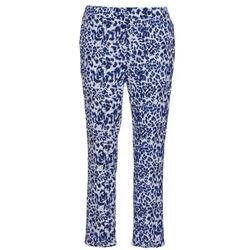 Textil Mulher Calças finas / Sarouels See U Soon CLARA Azul / Preto