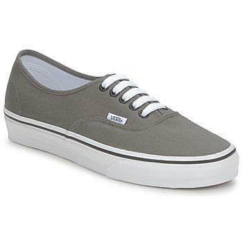 Sapatos Sapatilhas Vans AUTHENTIC Cinza