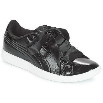 Sapatos Mulher Sapatilhas Puma VIKKY RIBBON P Preto