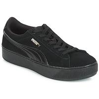 Sapatos Mulher Sapatilhas Puma VIKKY PF 182 Preto