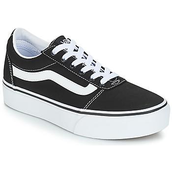 Sapatos Mulher Sapatilhas Vans VWM WARD PF Preto