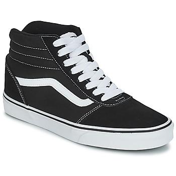 Sapatos Criança Sapatilhas Vans V MN WARD H Preto