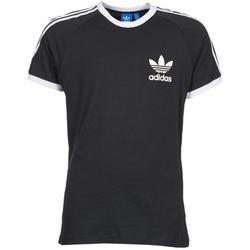 Textil Homem T-Shirt mangas curtas adidas Originals SPORT ESS TEE Preto