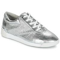 Sapatos Mulher Sapatilhas MICHAEL Michael Kors ADDIE LACE UP Prata
