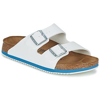 Sapatos Homem Sandálias Birkenstock ARIZONA SL Branco / Azul