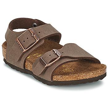 Sapatos Criança Sandálias Birkenstock NEW YORK Moca