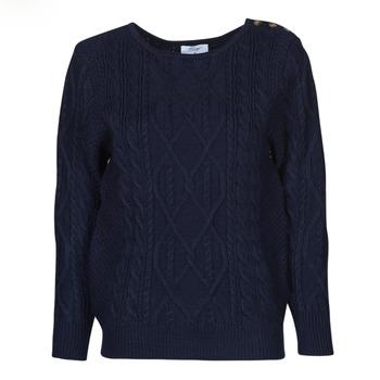 Textil Mulher camisolas Betty London JEDRO Marinho