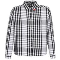 Textil Mulher camisas Maison Scotch FRINDA Preto / Branco