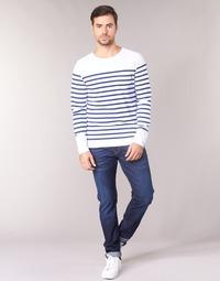 Textil Homem Calças Jeans Scotch & Soda RALSTON Azul / Escuro