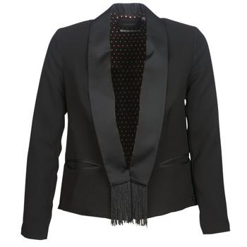 Textil Mulher Casacos/Blazers Maison Scotch BOUKOUM Preto