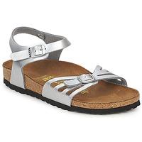 Sapatos Mulher Sandálias Birkenstock BALI Prata