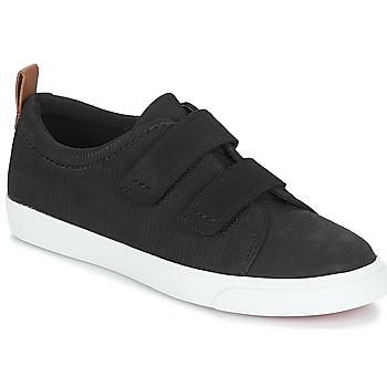 Sapatos Mulher Sapatilhas Clarks Glove Daisy Preto