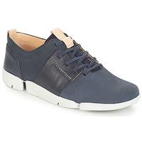 Sapatos Mulher Sapatilhas Clarks Tri Caitlin Navy