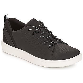 Sapatos Mulher Sapatilhas Clarks Step Verve Preto